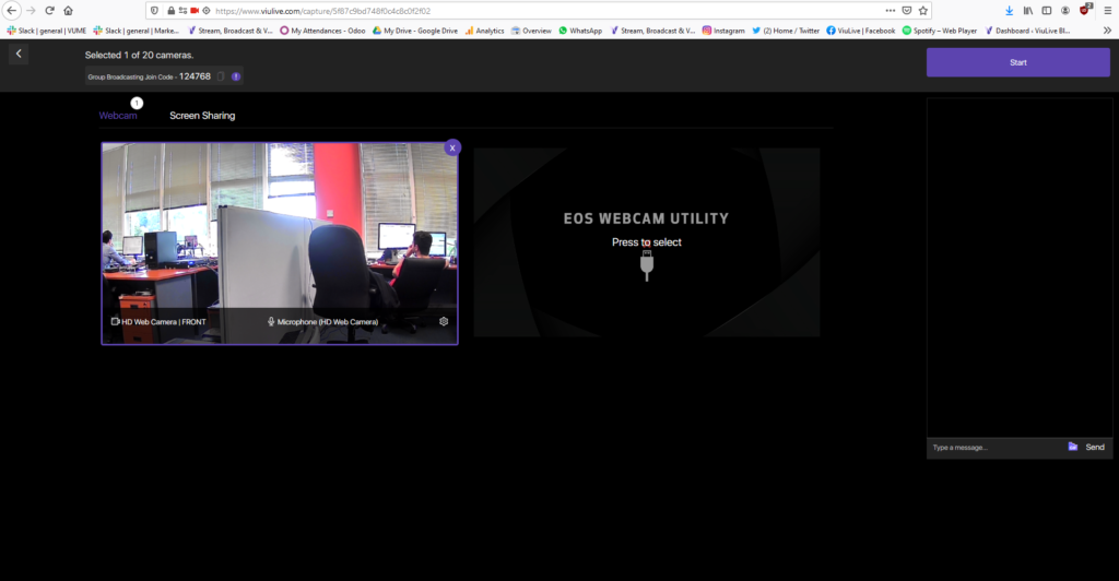 Webcam Group